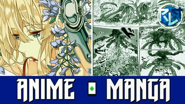 aplicaciones de cómic y anime