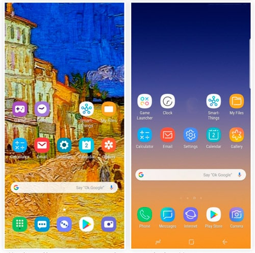 iconos android pie