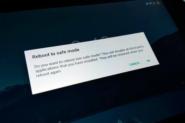 reboot modo seguro android