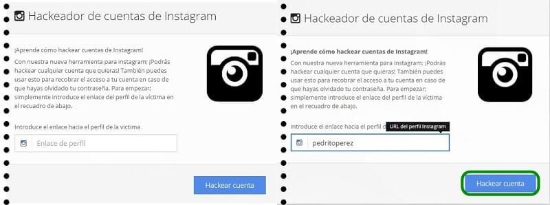 ¿De qué manera hackear una cuenta de instagram?