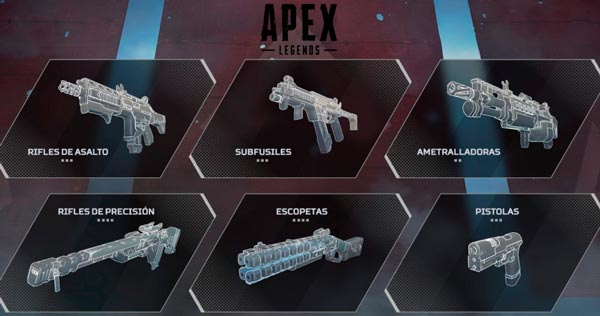 armas apex legends
