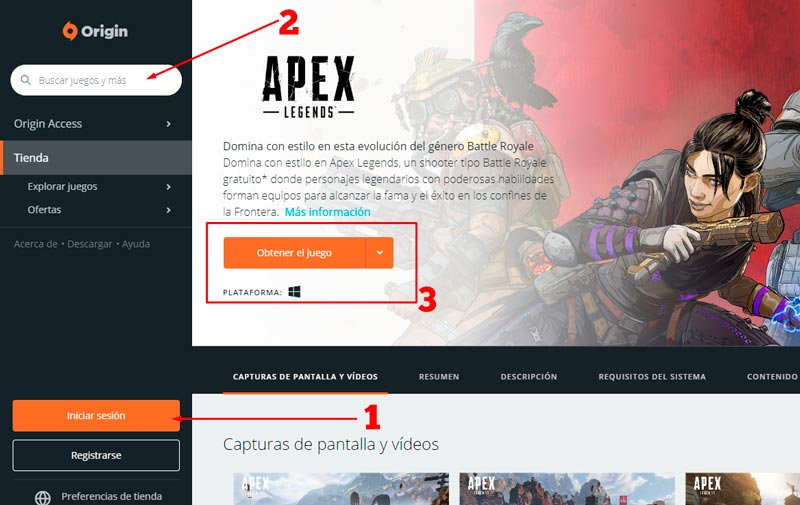 descargar apex legends