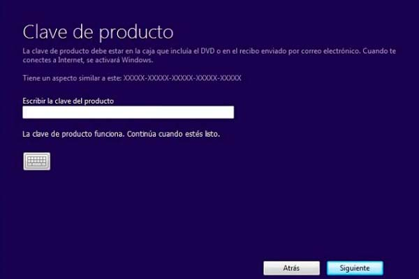 Clave Windows 10 Pro 2019