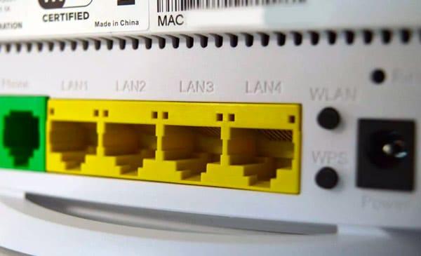 Qué contraseñas usan los routers