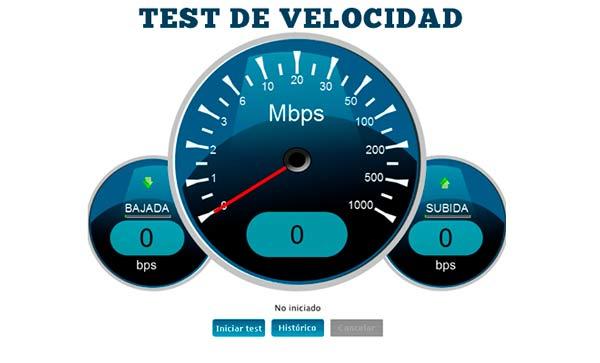 Test de velocidad con Movispeed en móvil