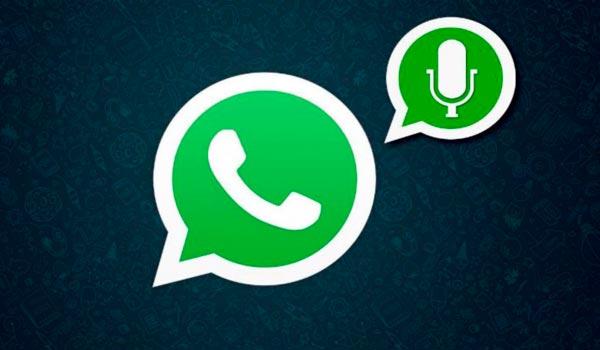convertir notas de voz a texto en WhatsApp