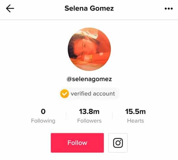 TikTok Selena Gomez