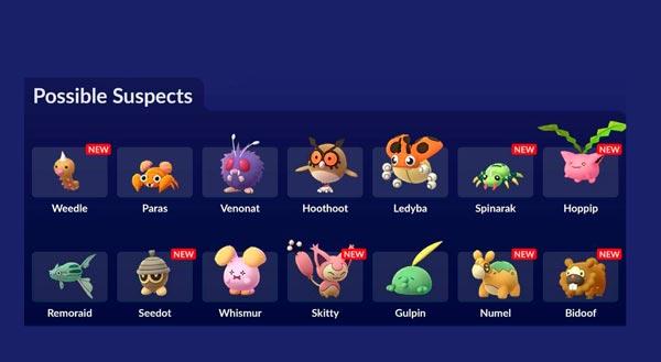 mas criaturas en pokemon go