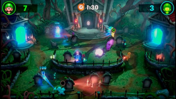 Luigi's Mansion 3 con hasta 8 jugadores