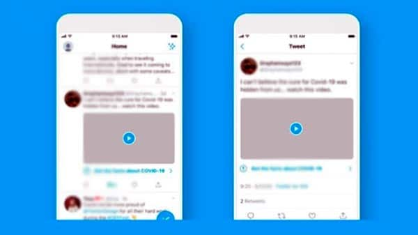 Coronavirus: Twitter añade un sello para ayudar al usuario a identificar las noticias falsas