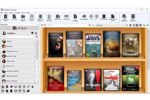 Administra tu biblioteca de libros electrónicos