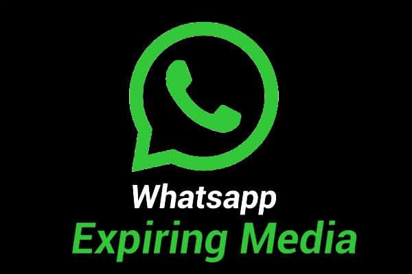 Expiring media de WhatsApp