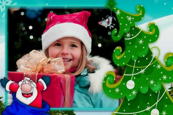 navidad marcos fotos