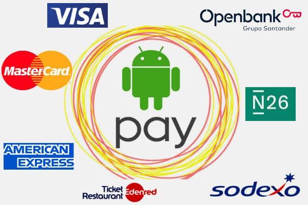 Tarjetas Android Pay España