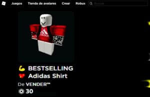 vender objetos roblox