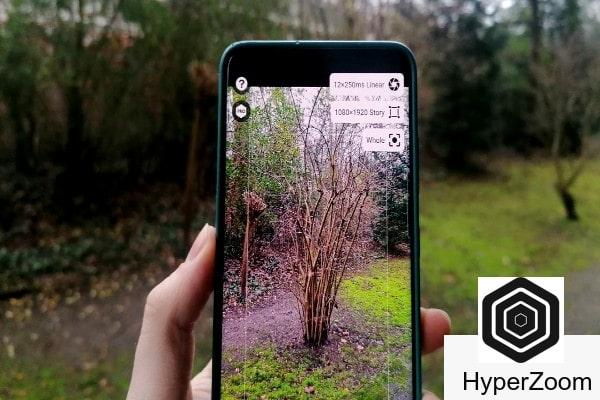 Hyperzoom aplicación