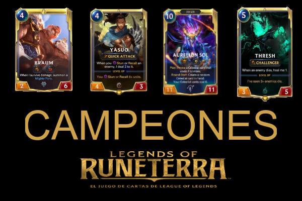 LoR Campeones