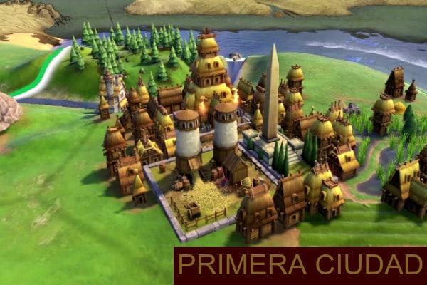 Civ VI Primera Ciudad