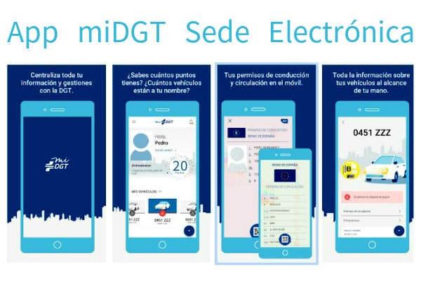 miDGT Funciones