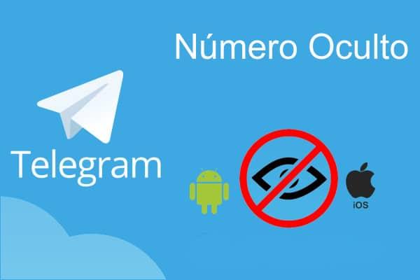 número oculto Telegram