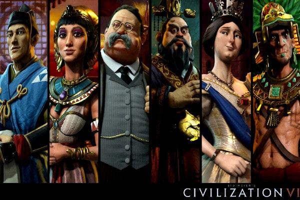 civilization VI Personajes