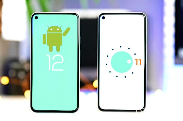 Dispositivos compatibles Android 12