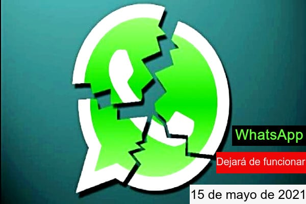 Si no aceptas las nuevas condiciones de privacidad de WhatsApp no podrás seguir usándolo
