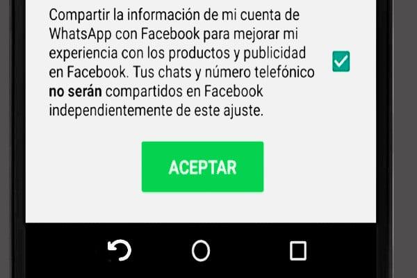 politicas  de privacidad de WhatsApp