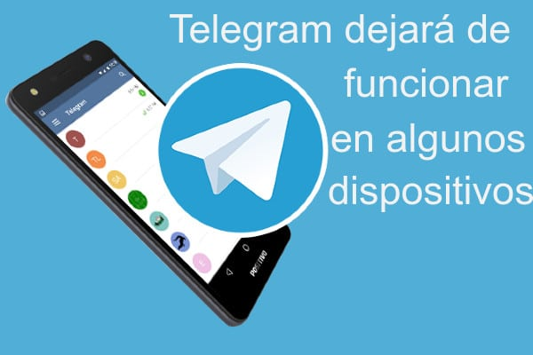 Telegram dejará de funcionar