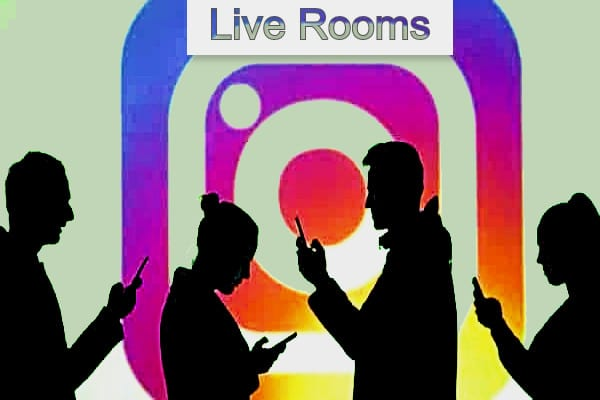 Live Rooms de Instagram