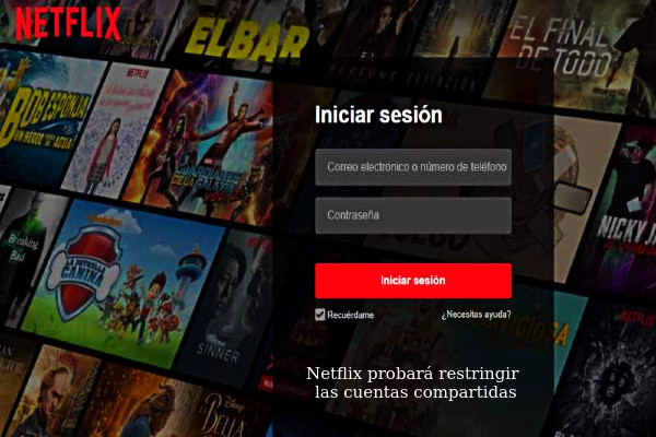 Netflix restringirá sus contraseñas