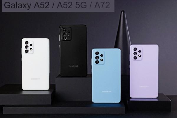 Galaxy A52 A52 5G A72