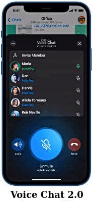 telegram funciones voice chat 2