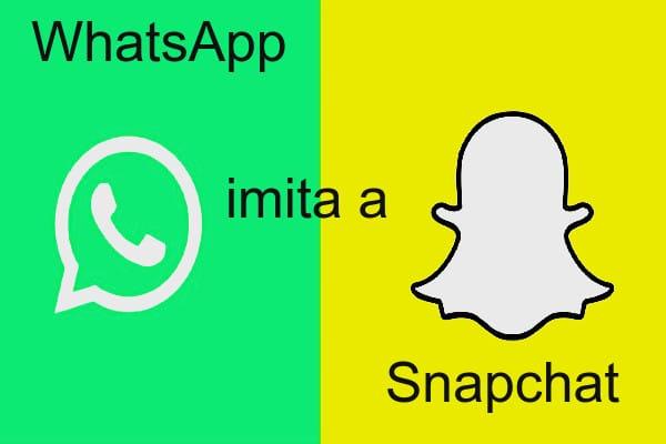 WhatsApp imita a Snapchat con opción de borrar fotos