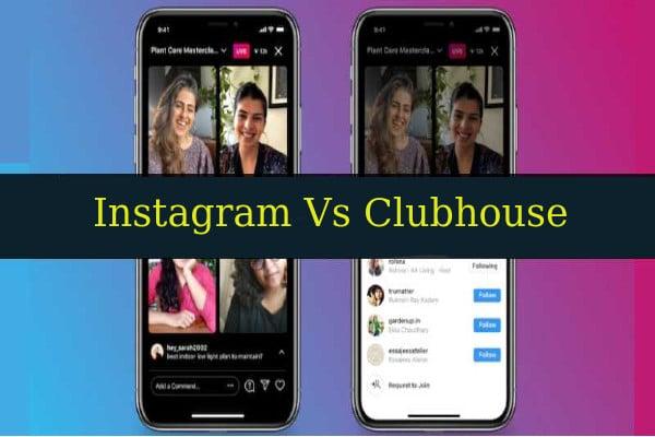 Instagram competirá con Clubhouse