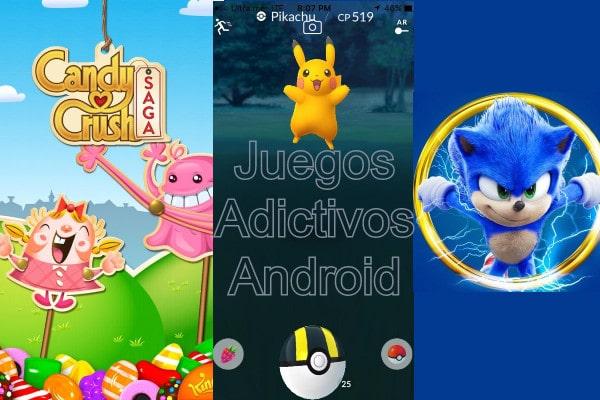 Juegos adictivos para Android