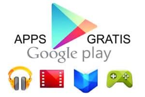 Google Play temporalmente ofrece aplicaciones gratis