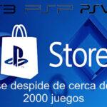 cierre de PS Store