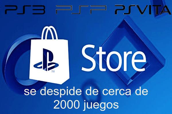 Videojuegos dicen adios tras cierre de PS Store