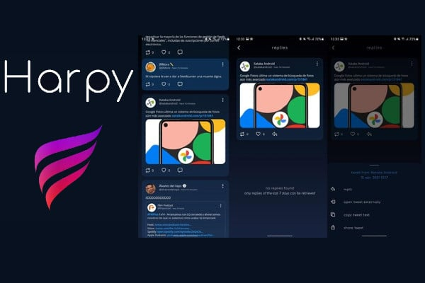 Harpy app para usar Twitter