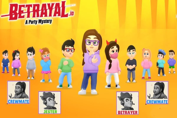 Roles de jugadores en Betrayal