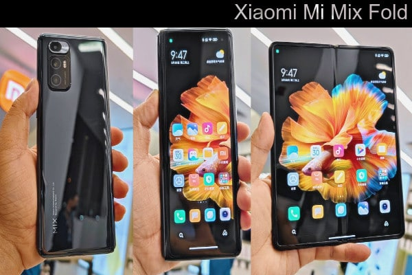Teléfono plegable Mi Mix Fold de Xiaomi